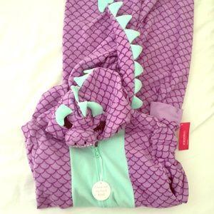 brand new dragon onesie